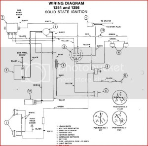 Bolens 1256 wiring question  MyTractorForum  The