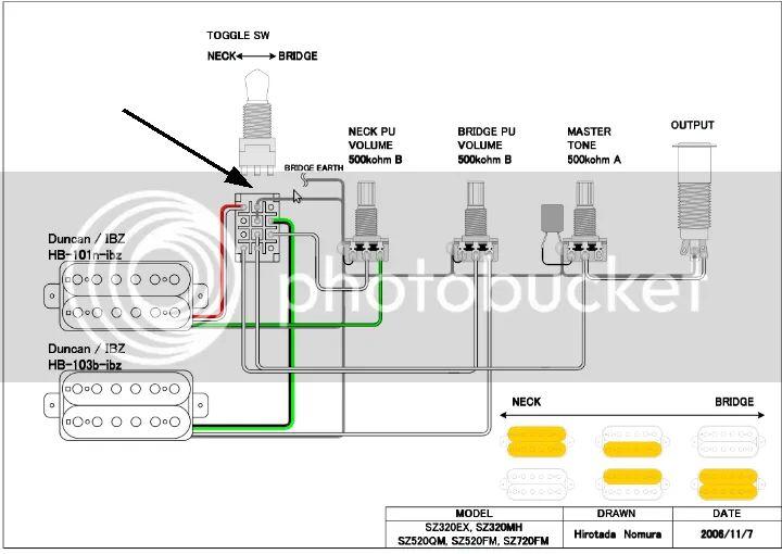 ibanez sr500 wiring diagram