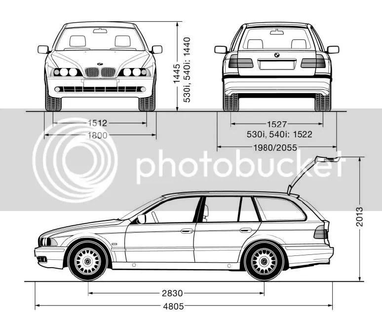 BMW E39 1995-2003