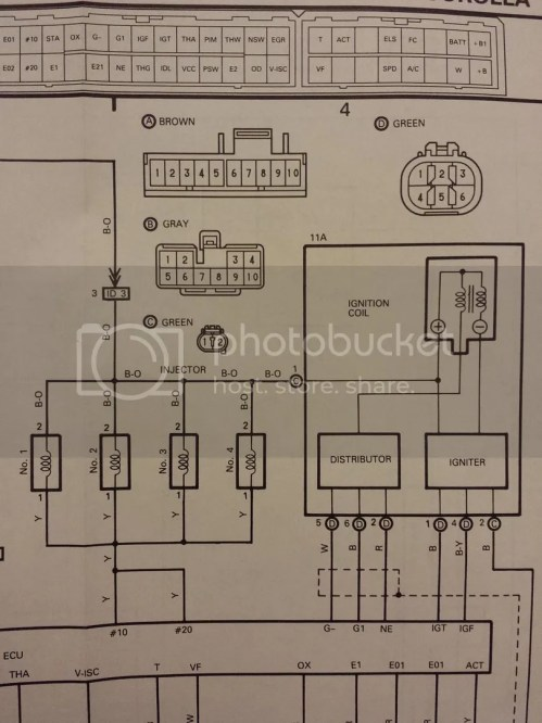 small resolution of toyota paseo distributor wiring diagram wiring libraryreport this image