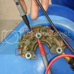 Ford Alternator Diode Testing Rv Power Plug Wiring Diagram Rectifier From Toyota Photo By Bobb 30