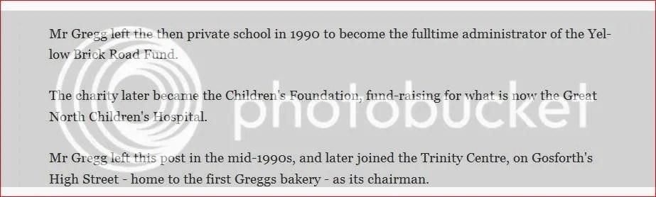 Colin Gregg Sophisticated Predatory Paedophile Former Boss Of