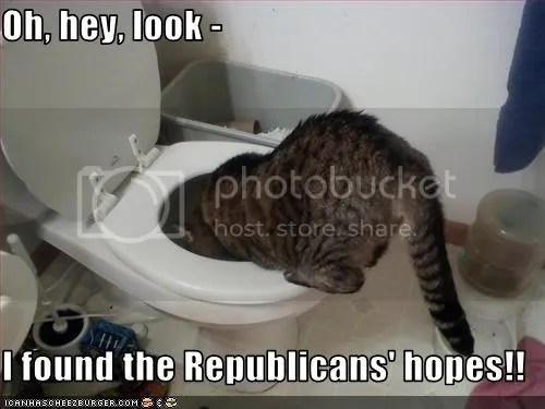 Watching Republicans Is Like Watching A Slow Motion Car Wreck (1/2)