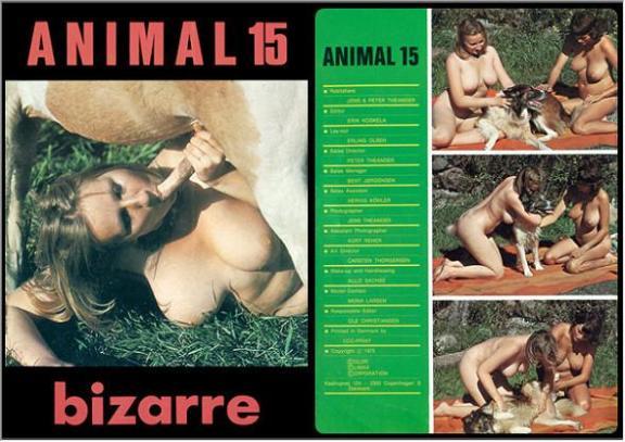 Vintage Zoo Magazines Animal Bizarre 8 Beastextreme   CLOUDY ...