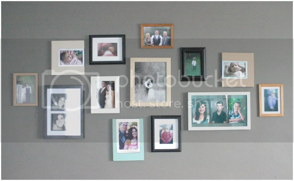 How to group photo frames