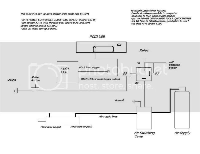air shifter wiring diagram wiring diagrams folder Air Horn Wiring Diagram