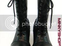Punk Lolita Platform Boots - MinkyShop