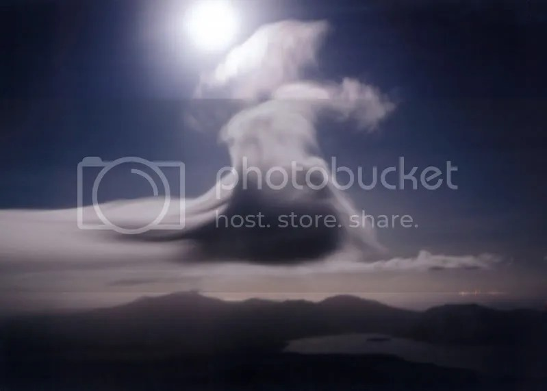 Moonscape over Tongariro