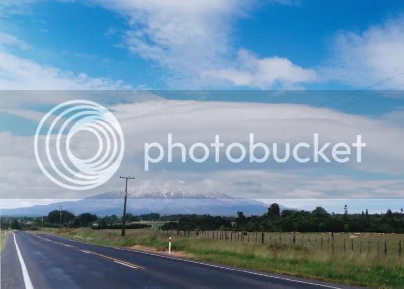 Cloud over Ruapehu