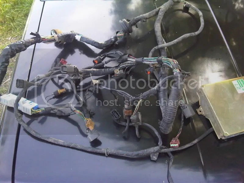 91 KA24DE Engine Harness & ECU Datsun Parts For Sale Ratsun Forums