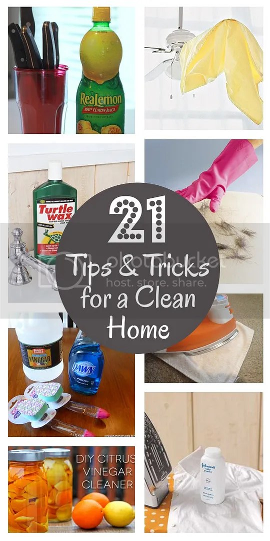DIY Home Sweet Home 21 Spring Cleaning Tips & Tricks
