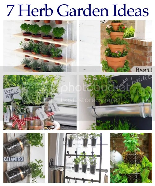 DIY Home Sweet Home 7 Herb Garden Ideas