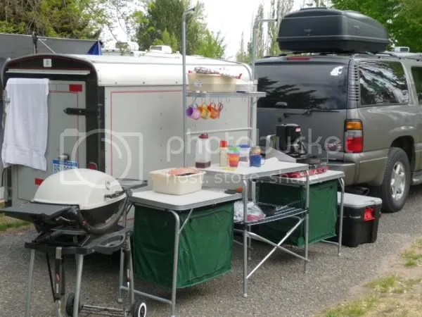 RVNet Open Roads Forum Tent Camping Cabelas Camp Kitchens