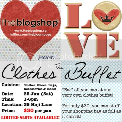 Singapore Lifestyle Blog, TheBlogShop, Featured Advertorial, The Clothes Buffet, Deals, Discounts, Clothes, Fashion