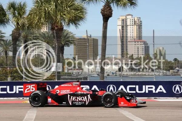 Marco Andretti ST. Pete