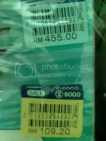 Jualan murah SOGO