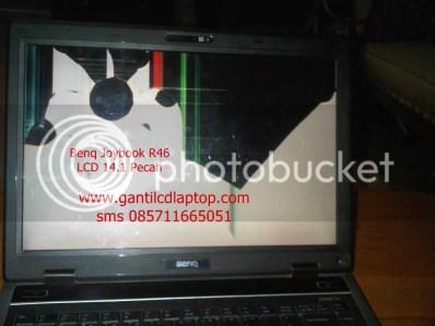lcd 14.1 pecah, benq joybook R46