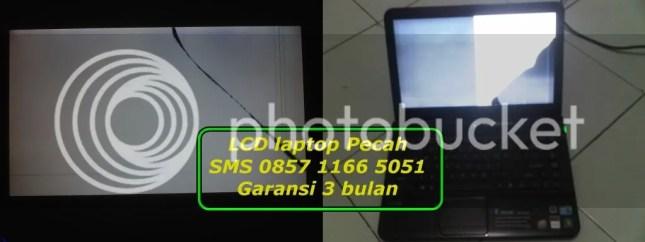 lcd laptop pecah, ganti lcd laptop pecah sms 085711665051