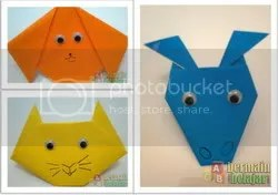 bermain origami anak