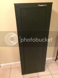 WTS: Sentry Safe 8 Gun Locking Cabinet - Calguns.net