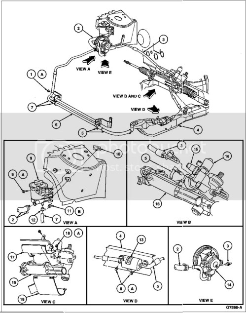small resolution of power steering diagram