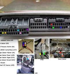 honda obd to obd wiring diagram wiring diagram for you bull obd1 gsr b18c1 subharness hondapartshero [ 1024 x 936 Pixel ]