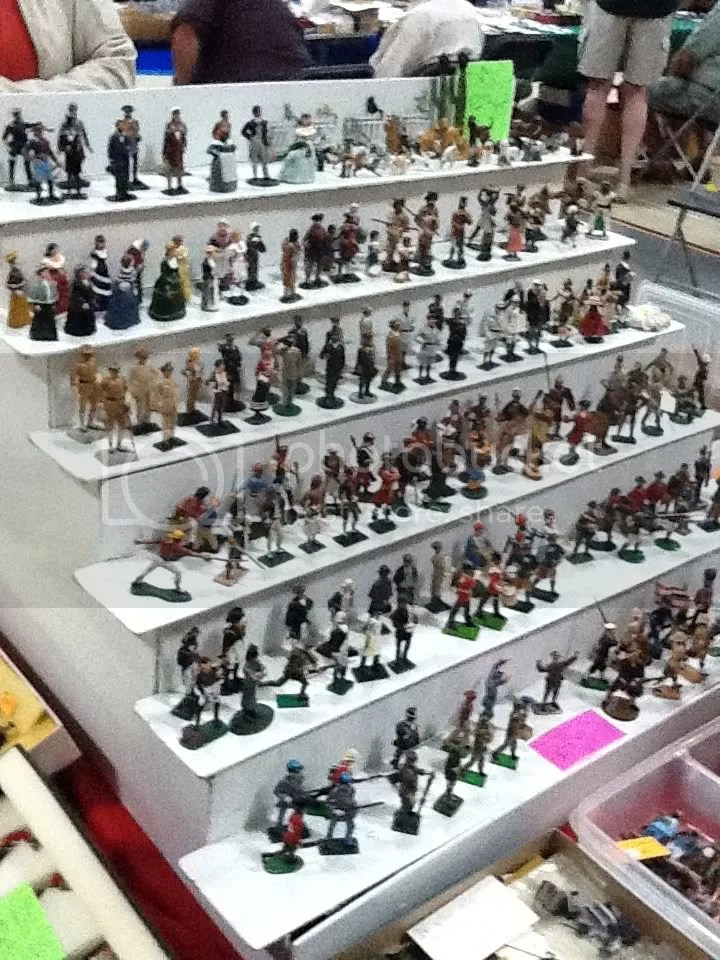 Assorted 54mm figures