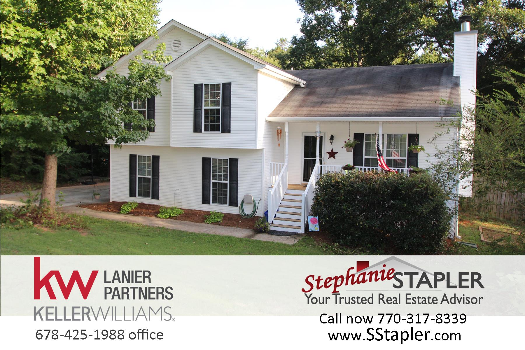 rocking chair realty black leather club home for sale 4bd / 3ba on 1.6 acre cul-de-sac lot – emerald pointe subdivision in barrow county ...