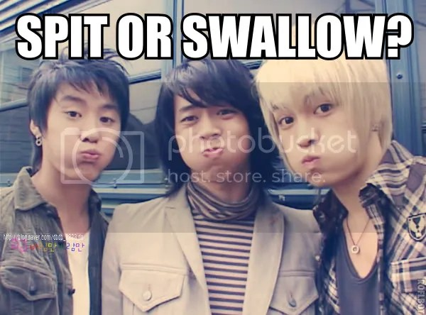 The boys from DBSK comes next with a classic macro text 8D