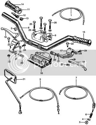 Honda CA77 CA72 CA92 CA95 CA160 CA175 SS125 CL90 S90 Pipe