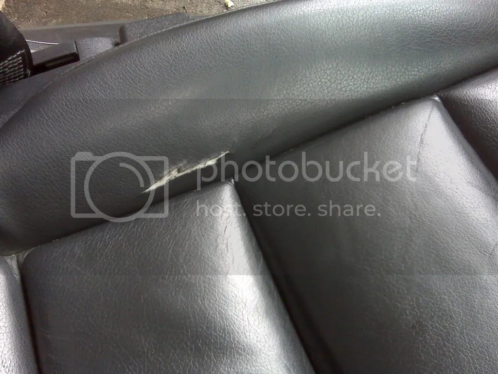 leather sofa repair kits for rips silver velvet tufted seat tear