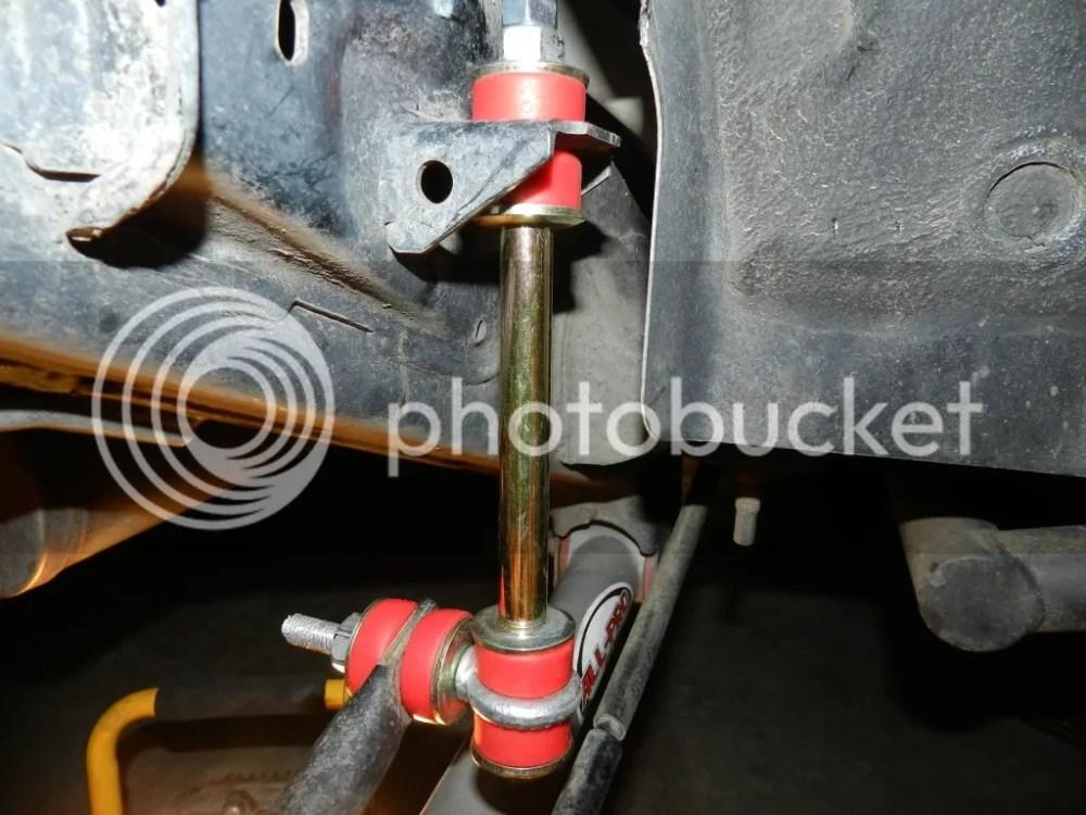 medium resolution of custom ish extended rear sway bar links write up