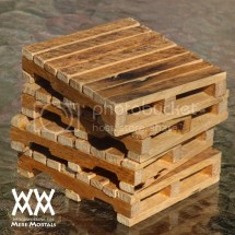 Pallet Drink Coasters Woodworking Mere Mortals