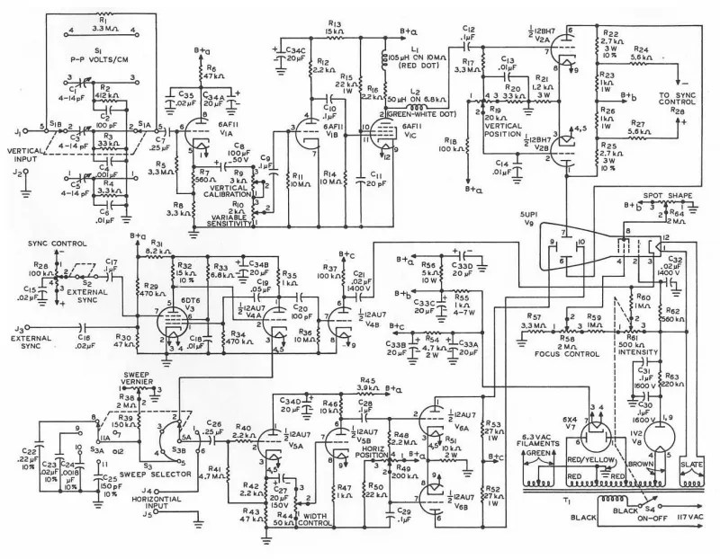 Schematic Diagram For Bell Howell Wiring Diagram ~ Elsavadorla