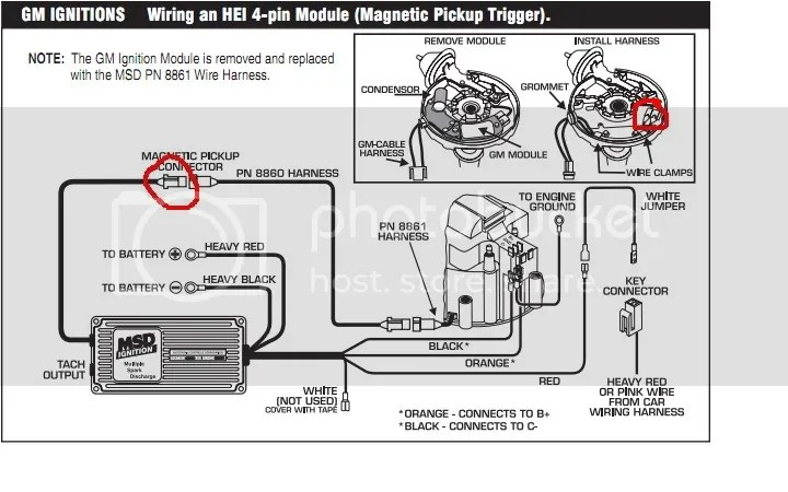 Accel Hei Distributor Wiring Diagram, Accel, Free Engine