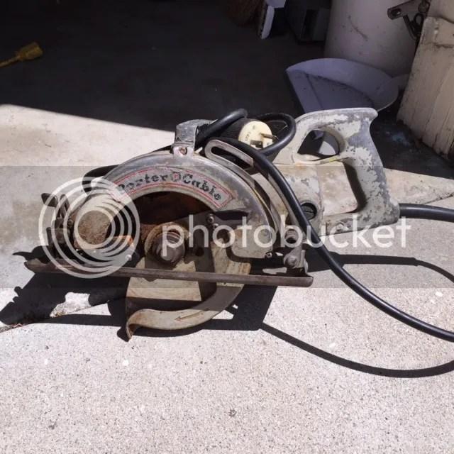 Vintage Porter Cable Circular Saw Parts