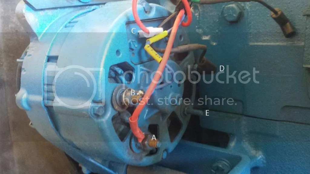 ford 8n wiring diagram for capacitor run motor 3600 rewiring part 3 - forum yesterday's tractors