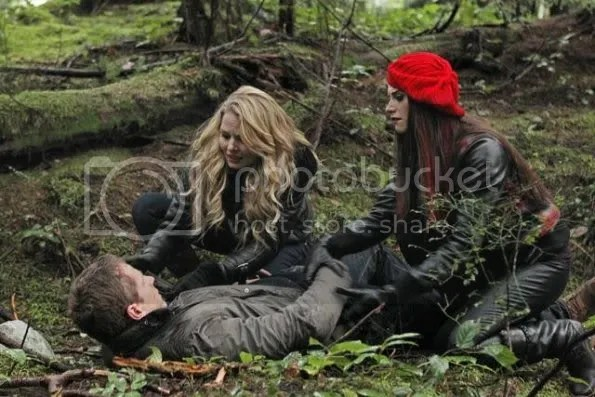 Once Upon a Time, David, Emma, and Ruby