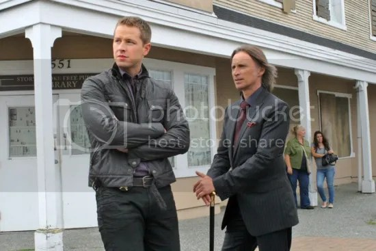 Once Upon a Time, Charming and Mr. Gold