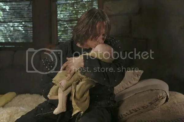 Rumpelstiltskin and Baelfire.