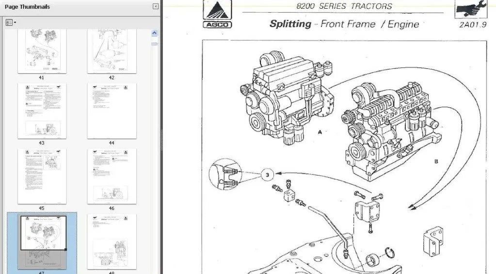Massey Ferguson 231s Service Manual