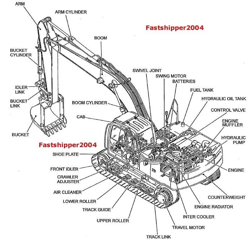 Kobelco SK330-6E SK330LC-6E SK330NLC-6 E Crawler Excavator