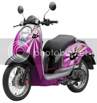 Sepeda Motor Honda Scoopy  Terbaru 2010  Spesifikasi