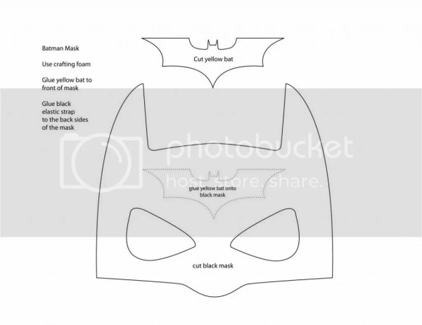 A Thousand Phases Make your own Batman Mask