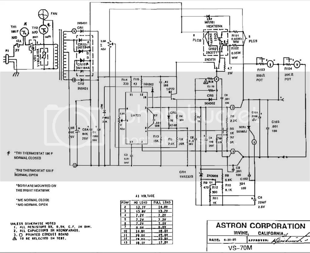 13 8v 80a Linear Ps Circuit Designysis For Ham Radio