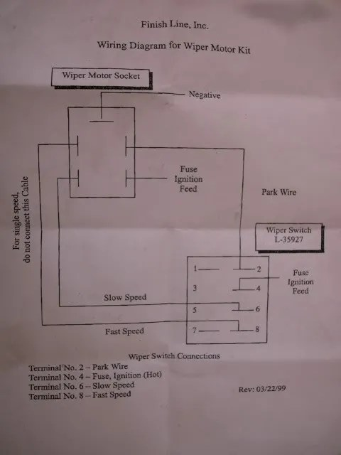 Wiper Wiring Diagram