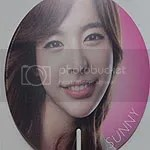 Girls' Generation SMTOWN LIVE Fan - Sunny