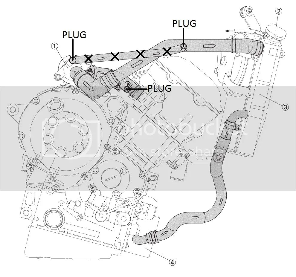 hose line yamaha r6 engine diagram