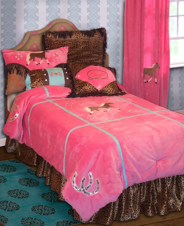Girls Horse Bedding Sets Twin