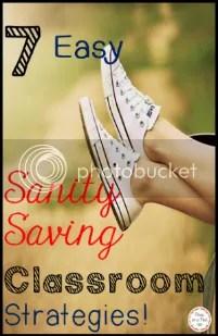classroom management http://peasinapodlessons.com/7-sanity-saving-behavior-management-strategies/
